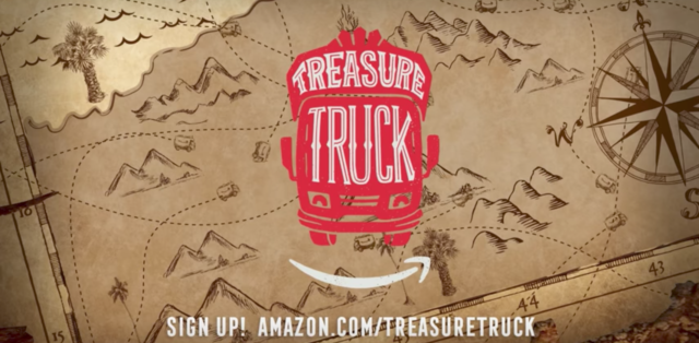 Amazon Treasure Truck. Photo by: Amazon / YouTube
