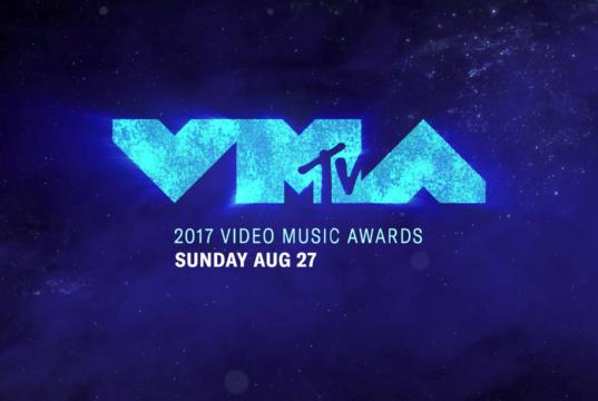 2017 MTV Video Music Awards promotional shot. Photo by: MTV / YouTube