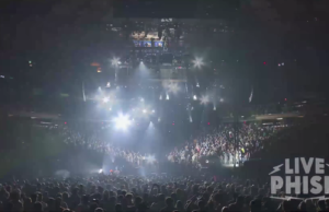 Phish live at Madison Square Garden. Photo by: Phish / YouTube