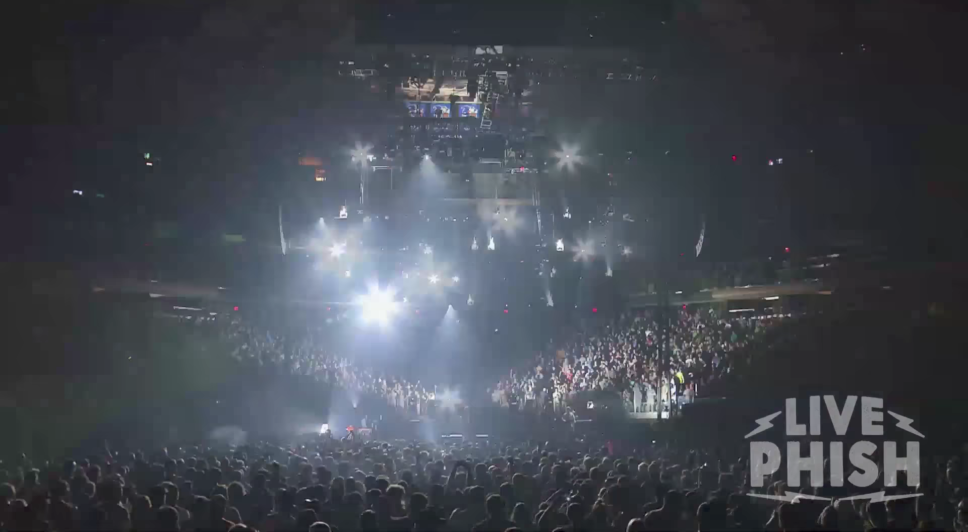 Phish Bounces Around The Room In Madison Square Garden During Their Final Performance Of The