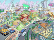 A still from the upcoming Rocko's Modern Life reboot by Nickelodeon. Photo by: Nickelodeon / YouTube
