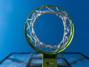 An outdoor basketball hoop. Photo by: Pexels.com