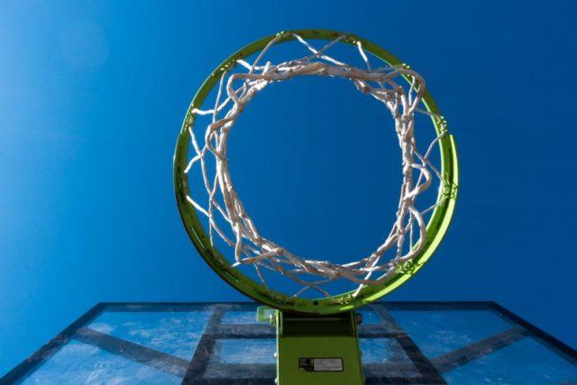 An outdoor basketball hoop. Photo by: Pexels.com