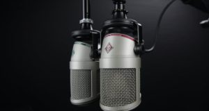 Microphones setup in a recording studio. Photo by: Pexels.com