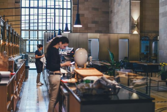 Employees working at a firm. Photo by: Pexels.com