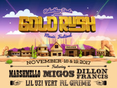 Goldrush Music Festival. Photo provided by: Relentless Beats, Universatile Music and Global Dance