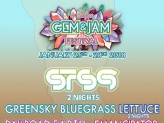 Gem and Jam Lineup 2018. Photo by: Gem and Jam Festival