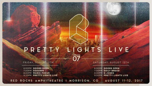 Pretty Lights live stream from Red Rocks Amphitheatre. Photo by: Pretty Lights