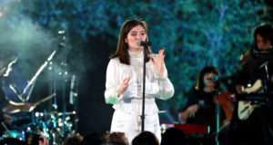 iHeartRadio Secret Sessions By AT&T Featuring Lorde At The Houdini Estate. Photo by: Rich Fury/Getty Images