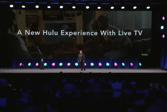 Hulu at the AWS Summit Series in New York. Photo by: Amazon Web Services / YouTube