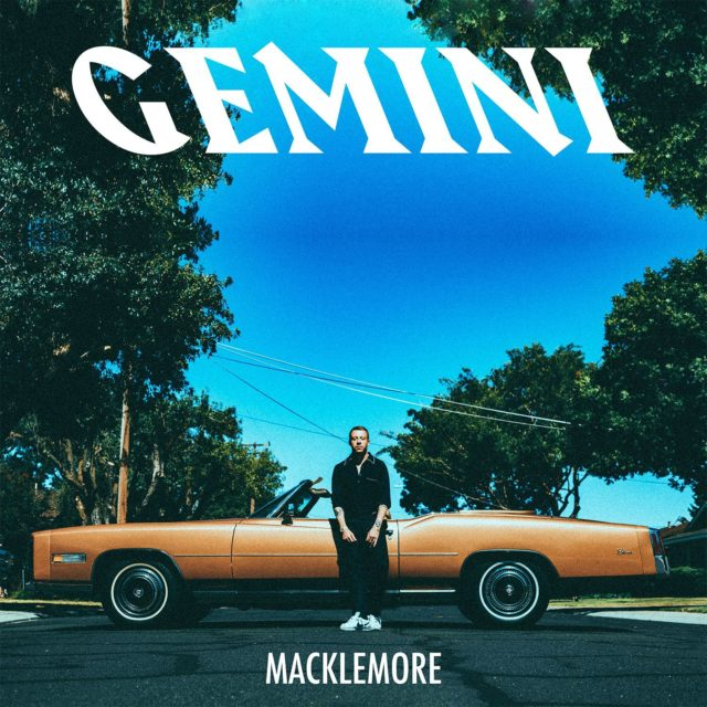 Gemini album cover artwork. Photo by: Macklemore