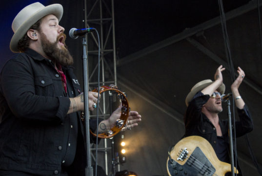 Nathaniel Rateliff & The Night Sweats at LouFest Music Festival 2017. Photo by: Matthew McGuire