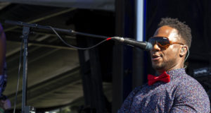 Robert Randolph at LouFest 2017. Photo by: Matthew McGuire