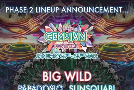 Gem and Jam 2018 artists additions. Photo provided.