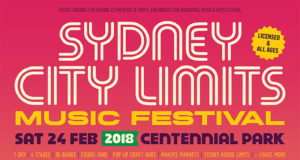 Sydney City Limits Music Festival 2018 lineup. Photo provided.