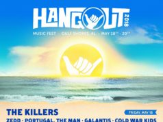 Hangout Music Festival 2018 lineup. Photo provided.