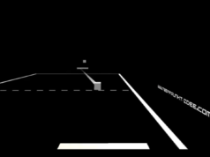 HolodeckVR screenshot of Pong in virtual reality. Photo by: HolodeckVR / YouTube