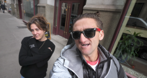 Casey and Candice. Photo by: Casey Neistat / YouTube