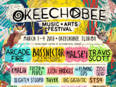 Okeechobee Music Festival 2018 lineup. Photo provided by: Mason Jar Media