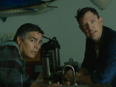 Esai Morales and Matthew Lillard appear in Halfway There by Rick Rosenthal, an official selection of the Indie Episodic program at the 2018 Sundance Film Festival. Courtesy of Sundance Institute | photo by Noah M Rosenthal.