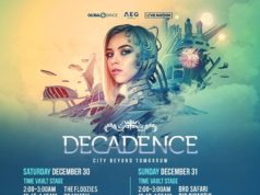 Decadence 2017 Denver schedule. Photo by: Decadence