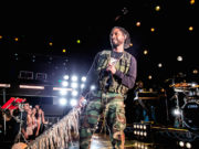 Miguel at iHeartRadio Theater in Los Angeles. Photo by: Wes and Alex for iHeartRadio.