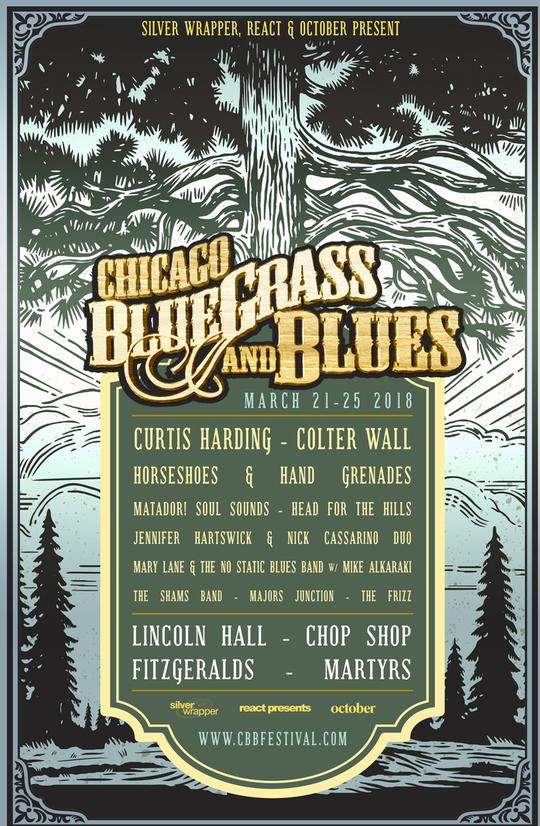 Chicago Bluegrass & Blues 2018 lineup. Photo provided.