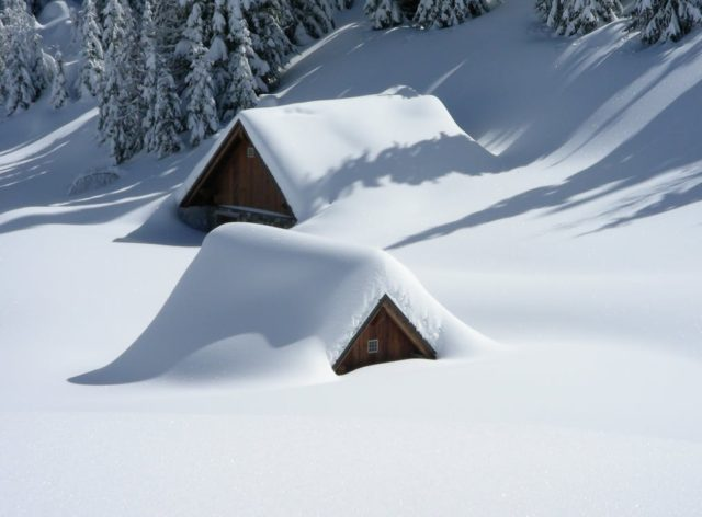 Extreme snowfall caused by climate change. Photo by: Pexels.com