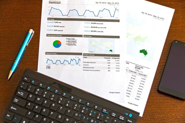 Web analytics and data planning. Photo by: Pexels.com