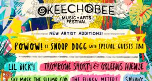 Okeechobee Music Festival 2018 artist additions. Photo provided.