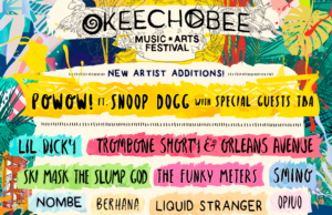 Okeechobee Music Festival 2018 artist additions. Photo provided.