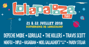 Lollapalooza Paris 2018 lineup. Photo provided.