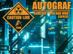 Autograf tour dates. Photo by: Autograf