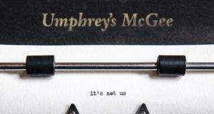 Album cover for 'it's not us' by Umphrey's McGee. Photo by: Umphrey's McGee
