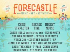 Forecastle Music Festival 2018 lineup. Photo by: Forecastle Music Festival