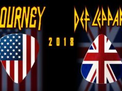 Def Leppard and Journey 2018 tour. Photo provided.