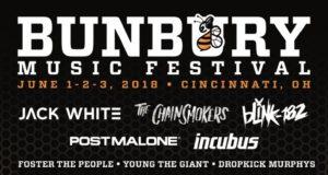 Bunbury Festival 2018 lineup. Photo by: Bunbury Festival