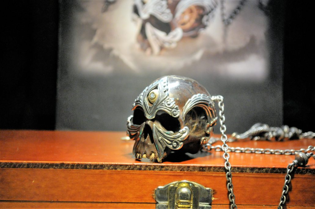 Custom Skull Jewelry. Photo by: RJ Harvey