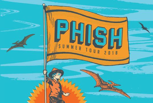 Phish tour dates promotional image. Photo by: Phish