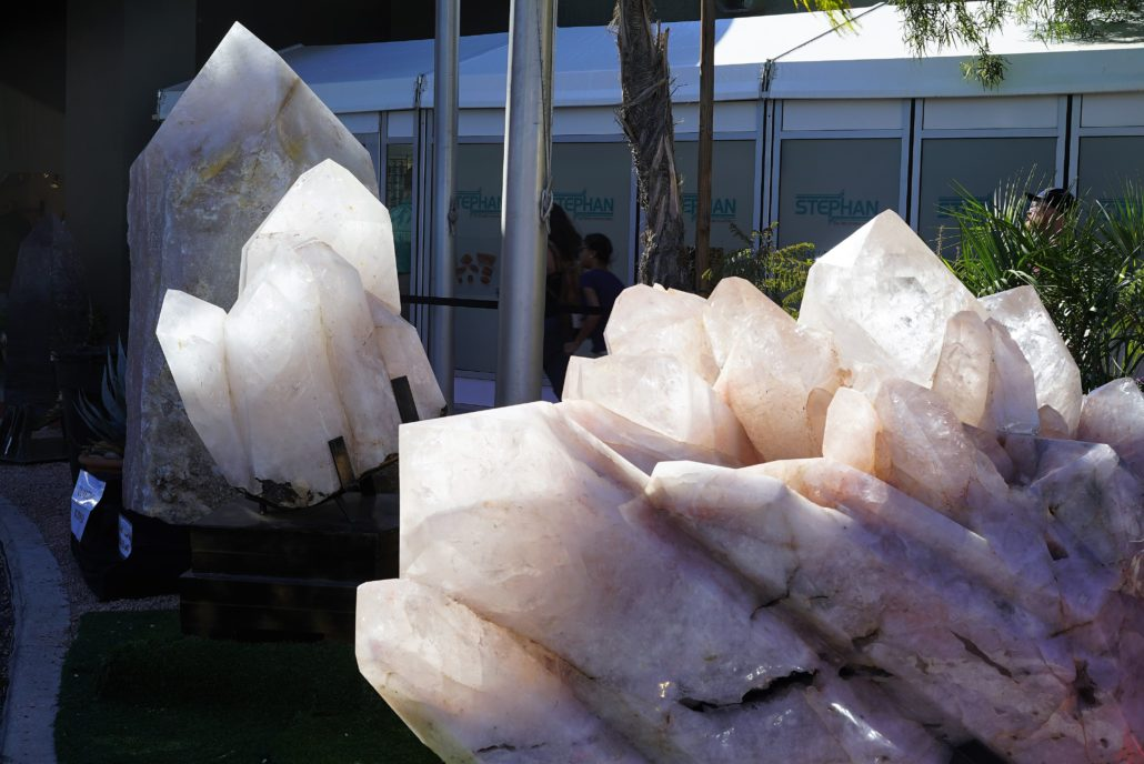 Gem Show Giant Minerals. Photo by: RJ Harvey
