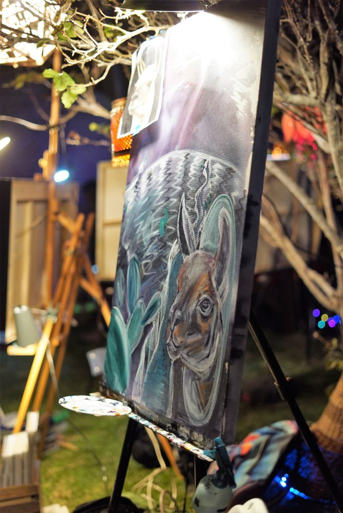 Live Painting. Photo by: RJ Harvey