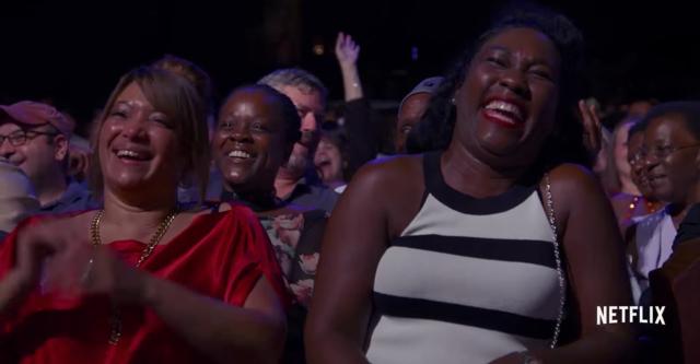 Crowd reaction frpm Katt Williams. Photo by: Netflix / YouTube