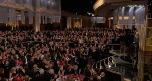 A moment from the 2018 Golden Globes. Photo by: NBC / YouTube