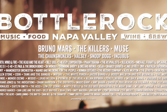 BottleRock Napa Valley 2018. Photo by: BottleRock Napa Valley / YouTube