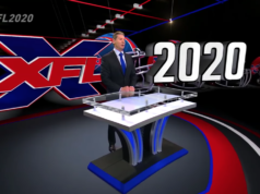 Vince McMahon introducing the XFL for 2020. Photo by: ESPN / YouTube