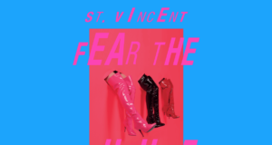 St. Vincent tour dates graphic image. Photo by: St. Vincent