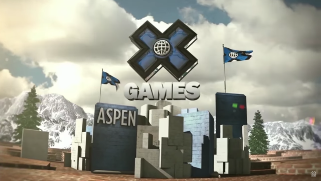 X Games Aspen 2018 graphic design. Photo by: X Games / YouTube