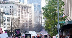 Seattle Women's March. Photo by: Cindy Shebley / Wikimedia Commons