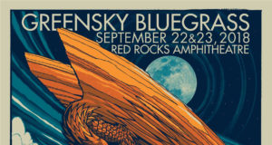 Greensky Bluegrass at Red Rocks. Photo by: Matthew McGuire