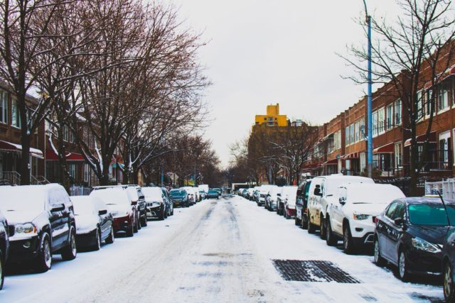 Conditions after a winter storm. Photo by: Essow Kedelina / Pexels.com